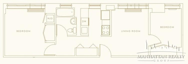 2 Bedrooms, Hell's Kitchen Rental in NYC for $4,095 - Photo 2