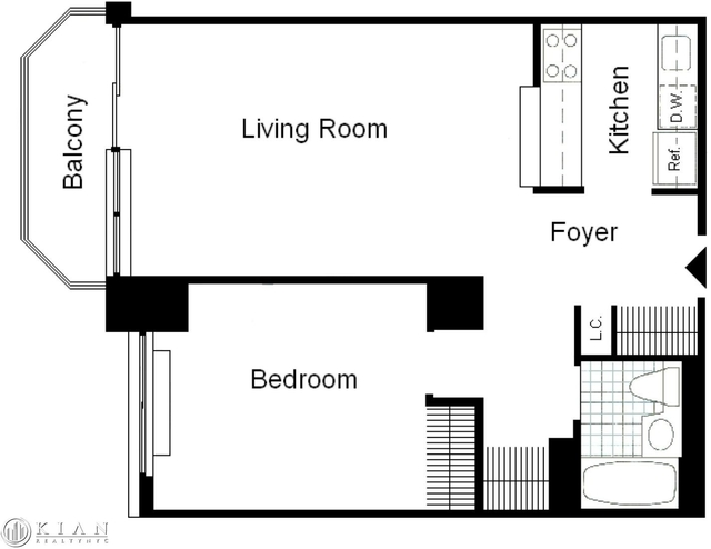 1 Bedroom, Theater District Rental in NYC for $3,946 - Photo 2