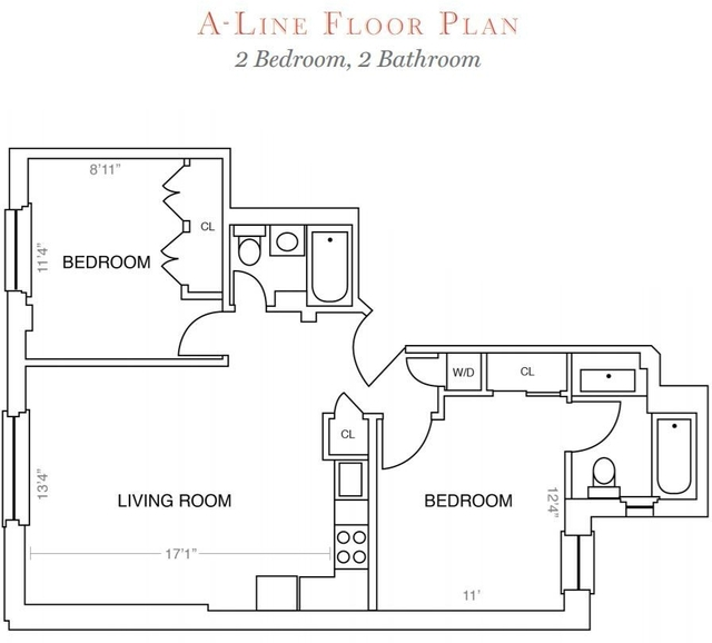 2 Bedrooms, Upper West Side Rental in NYC for $5,718 - Photo 2