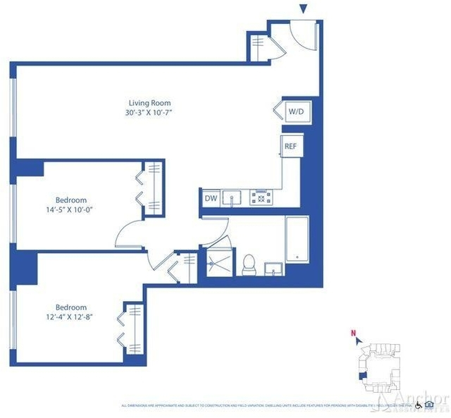 2 Bedrooms, Astoria Rental in NYC for $3,438 - Photo 2