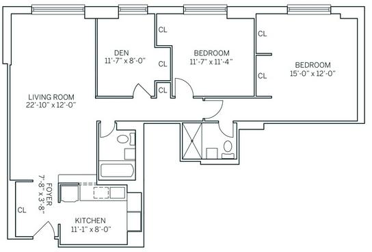 3 Bedrooms, Newport Rental in NYC for $3,905 - Photo 2