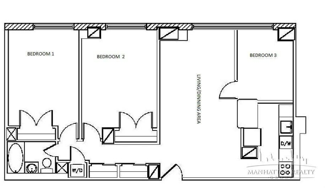 2 Bedrooms, Tribeca Rental in NYC for $4,850 - Photo 2