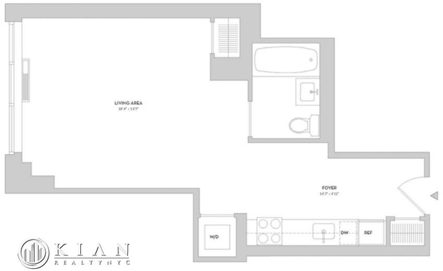 Studio, Lincoln Square Rental in NYC for $3,320 - Photo 2