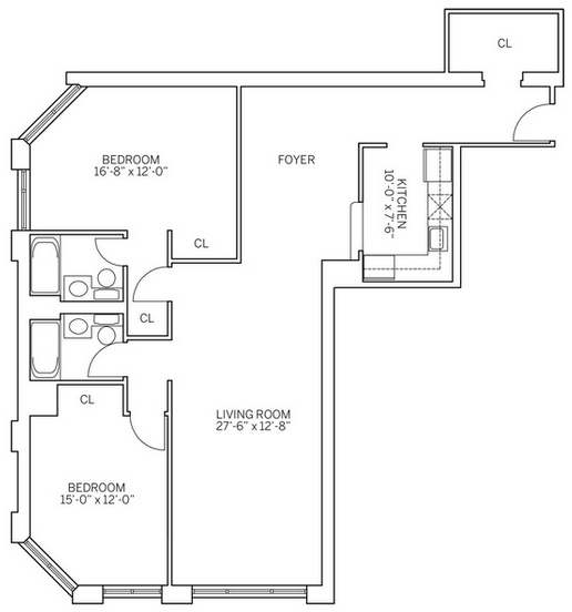 3 Bedrooms, Newport Rental in NYC for $4,830 - Photo 2