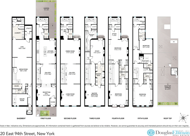 6 Bedrooms, Carnegie Hill Rental in NYC for $49,000 - Photo 2