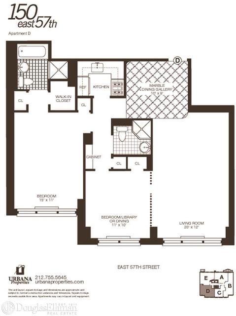 2 Bedrooms, Midtown East Rental in NYC for $5,300 - Photo 2