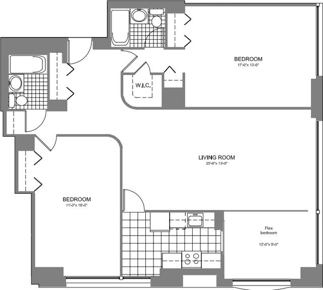 2 Bedrooms, Kips Bay Rental in NYC for $6,150 - Photo 2
