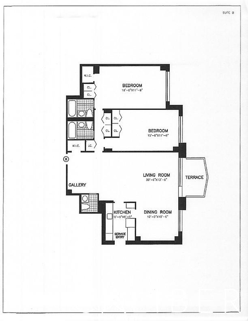 2 Bedrooms, Upper East Side Rental in NYC for $6,400 - Photo 2