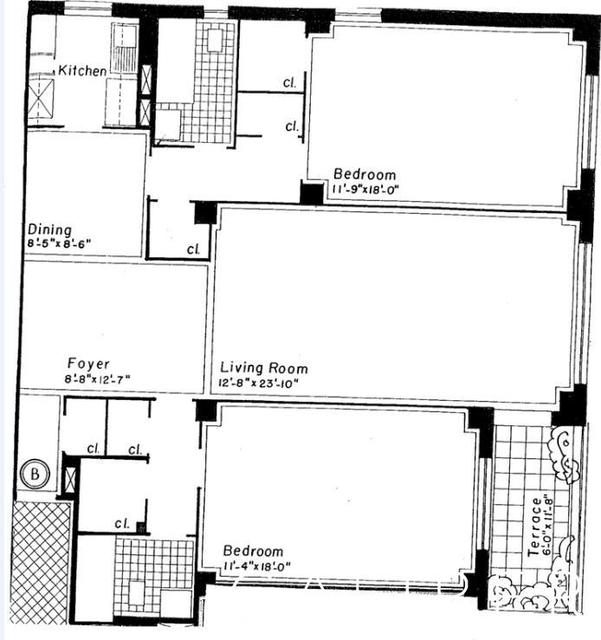 2 Bedrooms, Midtown East Rental in NYC for $5,800 - Photo 2