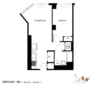 1 Bedroom, Mott Haven Rental in NYC for $2,079 - Photo 2