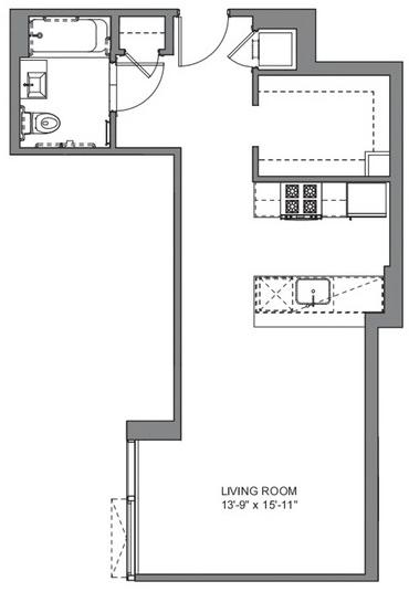 Studio, DUMBO Rental in NYC for $3,259 - Photo 2