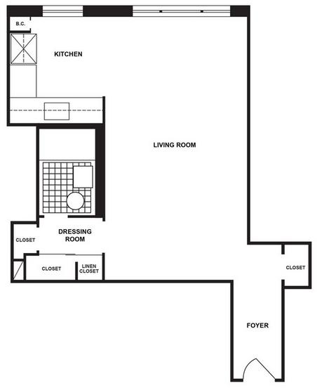 Studio, LeFrak City Rental in NYC for $1,560 - Photo 2