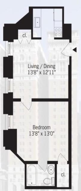 1 Bedroom, Koreatown Rental in NYC for $3,150 - Photo 2