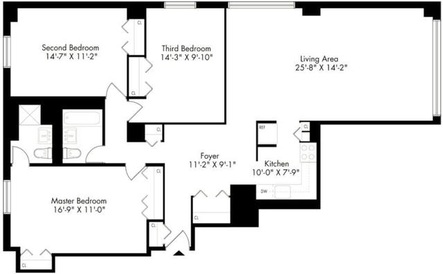 3 Bedrooms, Kips Bay Rental in NYC for $7,200 - Photo 2