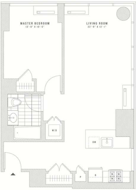 1 Bedroom, Chelsea Rental in NYC for $4,648 - Photo 2