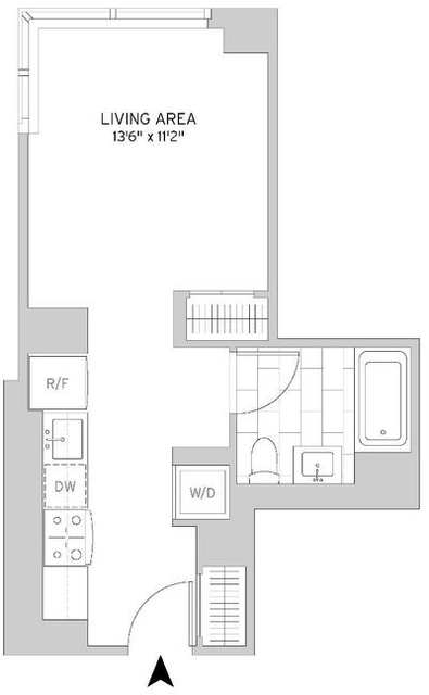 Studio, Murray Hill Rental in NYC for $3,526 - Photo 2