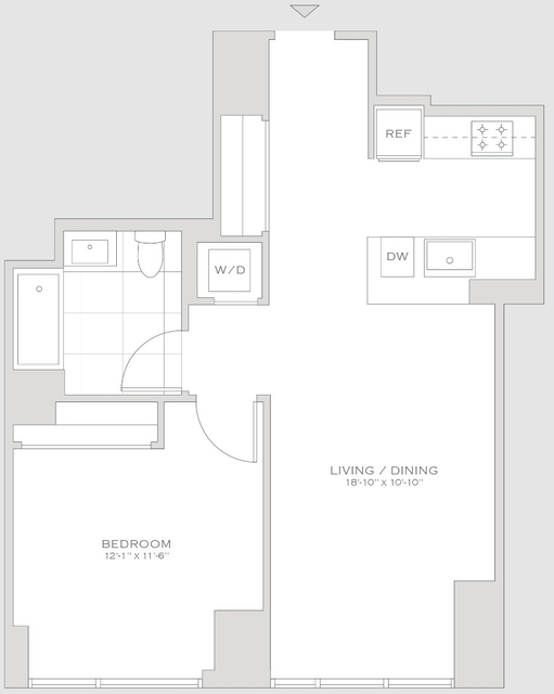 1 Bedroom, Turtle Bay Rental in NYC for $5,260 - Photo 2