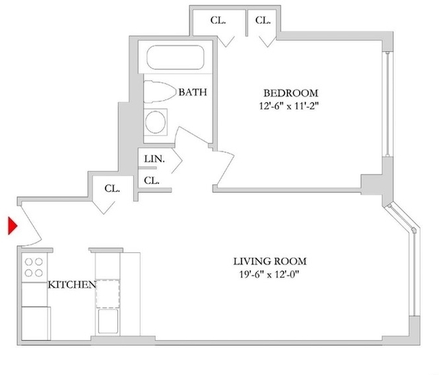 1 Bedroom, Rose Hill Rental in NYC for $4,055 - Photo 2