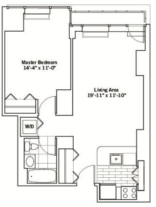 1 Bedroom, Chelsea Rental in NYC for $4,029 - Photo 2
