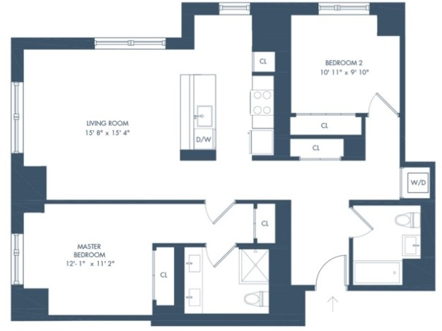 2 Bedrooms, Long Island City Rental in NYC for $4,885 - Photo 2