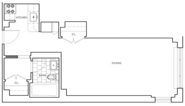 Studio, Murray Hill Rental in NYC for $3,163 - Photo 2