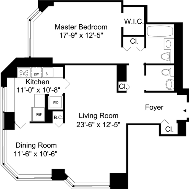 1 Bedroom, Murray Hill Rental in NYC for $5,414 - Photo 2