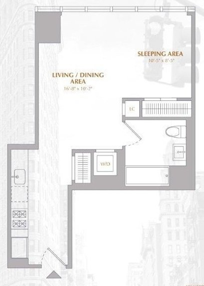Studio, Murray Hill Rental in NYC for $3,508 - Photo 2