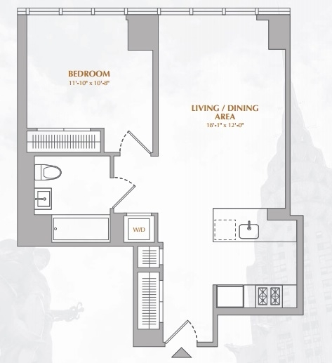 1 Bedroom, Murray Hill Rental in NYC for $4,915 - Photo 2