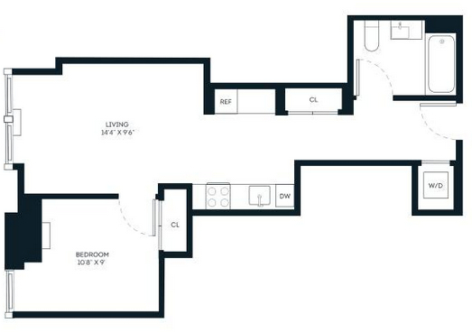 1 Bedroom, Financial District Rental in NYC for $3,688 - Photo 2