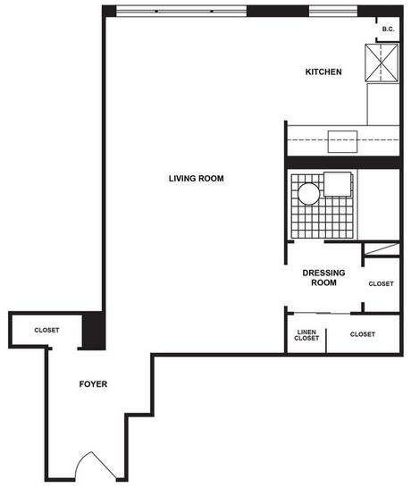 Studio, LeFrak City Rental in NYC for $1,585 - Photo 1