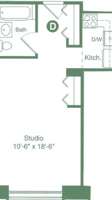 Studio, Flatiron District Rental in NYC for $3,250 - Photo 2