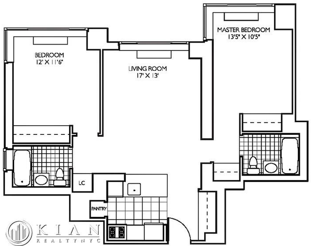 Room, Theater District Rental in NYC for $1,580 - Photo 2