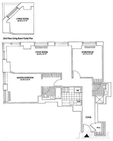 2 Bedrooms, Financial District Rental in NYC for $5,795 - Photo 2