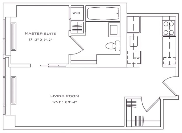 Studio, Lincoln Square Rental in NYC for $2,830 - Photo 2