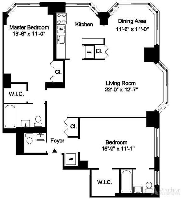 3 Bedrooms, Yorkville Rental in NYC for $7,495 - Photo 2