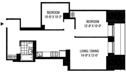 2 Bedrooms, Financial District Rental in NYC for $4,495 - Photo 2