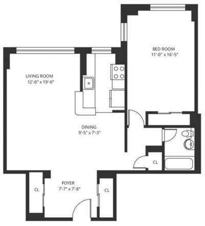 1 Bedroom, Central Harlem Rental in NYC for $2,300 - Photo 2