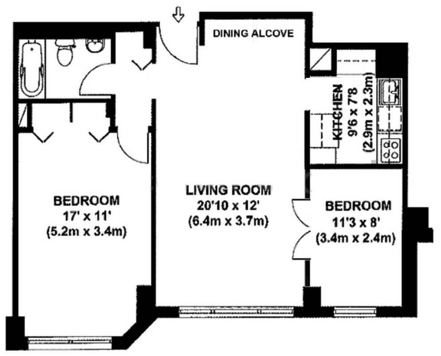 2 Bedrooms, Yorkville Rental in NYC for $4,100 - Photo 2