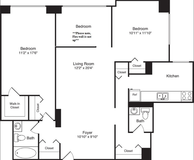 2 Bedrooms, Rose Hill Rental in NYC for $5,885 - Photo 2