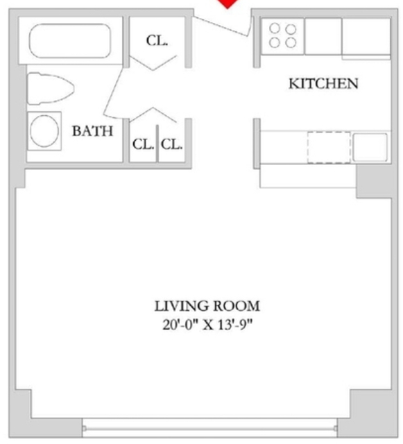 Studio, Rose Hill Rental in NYC for $3,035 - Photo 2