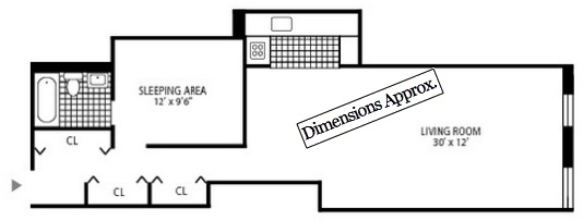 Studio, Upper East Side Rental in NYC for $3,232 - Photo 2