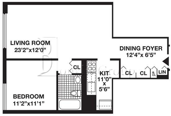 1 Bedroom, Battery Park City Rental in NYC for $4,080 - Photo 2