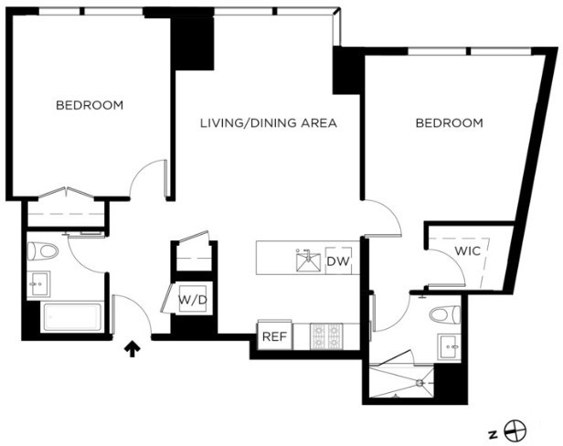 2 Bedrooms, Williamsburg Rental in NYC for $6,950 - Photo 2