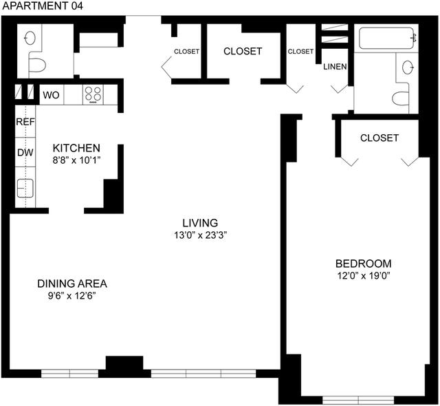 1 Bedroom, Spuyten Duyvil Rental in NYC for $1,937 - Photo 2