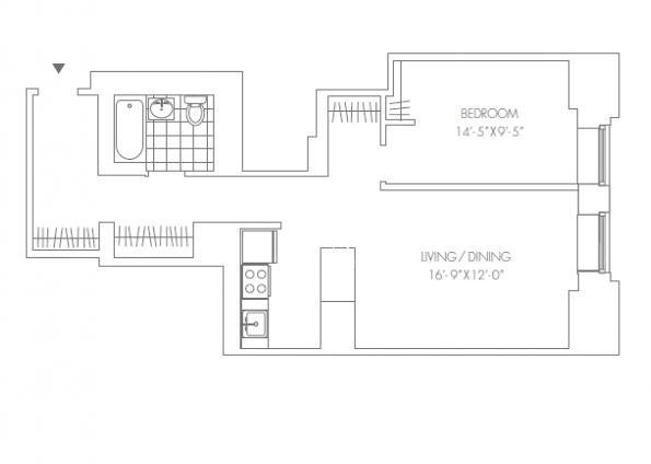 1 Bedroom, Financial District Rental in NYC for $3,950 - Photo 2