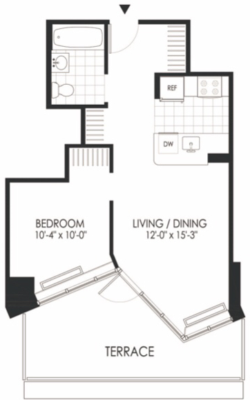 1 Bedroom, Hunters Point Rental in NYC for $3,016 - Photo 1
