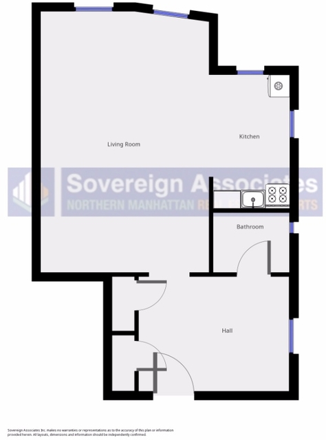 Studio, Spuyten Duyvil Rental in NYC for $1,595 - Photo 2