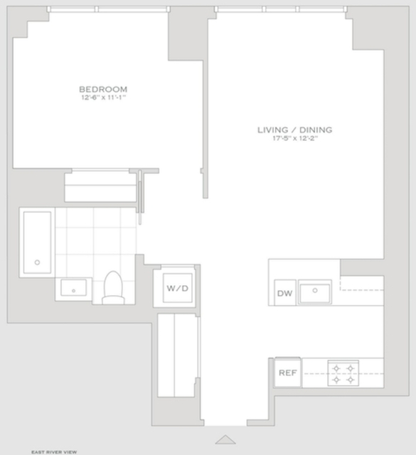 1 Bedroom, Turtle Bay Rental in NYC for $5,910 - Photo 2