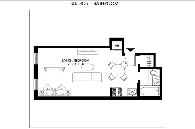 Studio, Sutton Place Rental in NYC for $2,380 - Photo 2