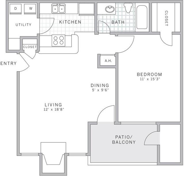 1 Bedroom, East Whiteland Rental in Philadelphia, PA for $1,234 - Photo 2